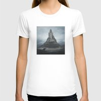castle T-shirts featuring White Castle by yurishwedoff