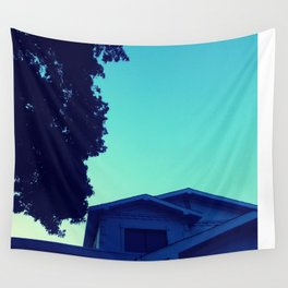 Late One Summer Evening Wall Tapestry