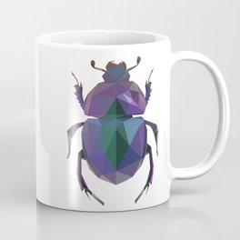 Lowpoly Dung Beetle Coffee Mug