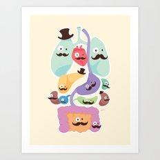 Gentlemen Organs Art Print