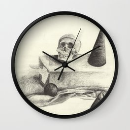 Original Skull Wall Clock