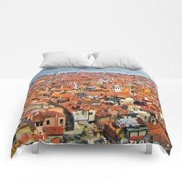 Venice Rooftops Comforters