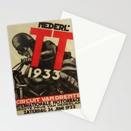 Vintage poster - Dutch Motorcycles Stationery Cards