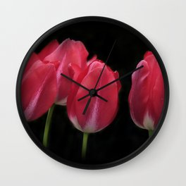 red and beautiful Wall Clock
