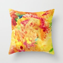 Autumn outburst Throw Pillow