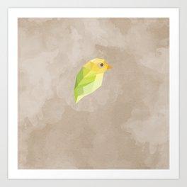 Green Canary Art Print