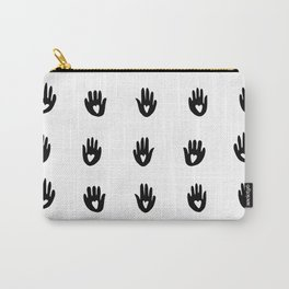 Heart Hands - graphic pattern Carry-All Pouch