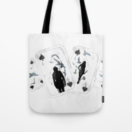 A PAIR OF CROWS - SET 01 Tote Bag