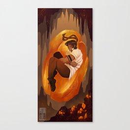 Amber Light Canvas Print