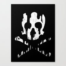 Skullmelt Canvas Print