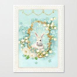 The White Rabbit Canvas Print