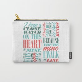 Walk the Line Carry-All Pouch
