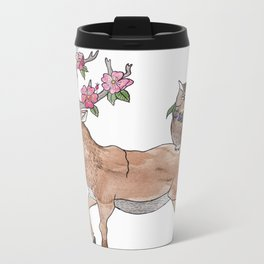 unlikely friends Metal Travel Mug