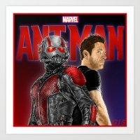 Ant-Man 2015 Art Print