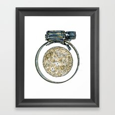 This is not a clamp. Just my imagination. Framed Art Print