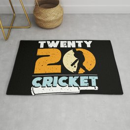 Twenty20 Cricket Player Sports Team Sport Rug