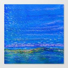 Blue landscape I Canvas Print