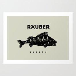 Barsch / Perch Art Print