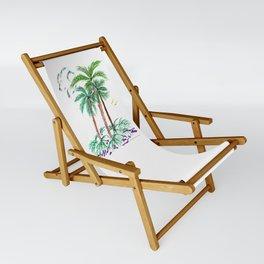 """Triplet Palms"" Sling Chair"