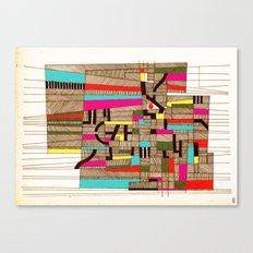 - architecture#02 - Canvas Print