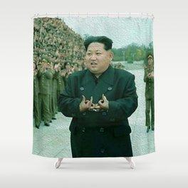 Kim Jong Un Shower Curtain