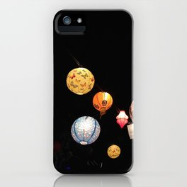 Lanterns - Greg Katz iPhone Case