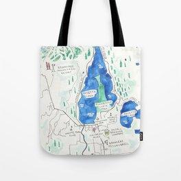 McCall Idaho Tote Bag