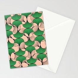 KEYAH - Green & pink Stationery Cards