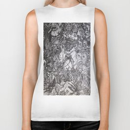 Lithe intention - Strained animation Biker Tank