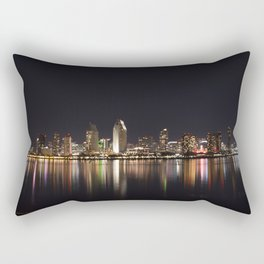 San Diego Skyline Rectangular Pillow