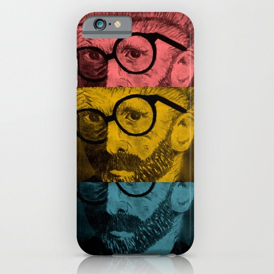 Hipster Van Gogh iPhone & iPod Case