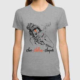 Chai Chillum Chapati T-shirt