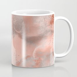 Copper Metal Fluid Ink Texture Coffee Mug