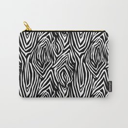 Black and white abstract pattern. Zebra . Carry-All Pouch