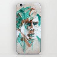 sherlock iPhone & iPod Skins featuring Sherlock by Dan Olivier-Argyle