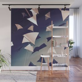 Paper Wings Wall Mural