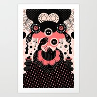 Art Prints featuring Hallucination by Muxxi