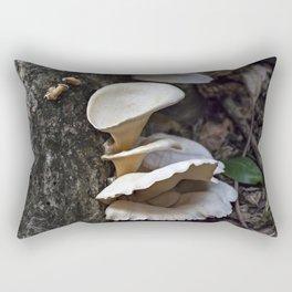 Fungi on a tree Rectangular Pillow