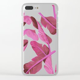 Tropical '17 - Ajaja [Banana Leaves] Clear iPhone Case
