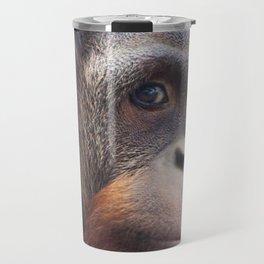 Orangutan Portrait Travel Mug