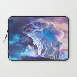 Alolan Ninetales  and Vulpix Laptop Sleeve