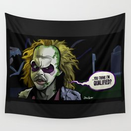 Qualified? Wall Tapestry