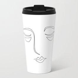 Face 2 Metal Travel Mug