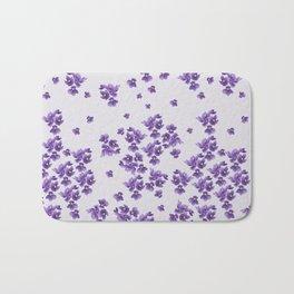 African Violets Bath Mat
