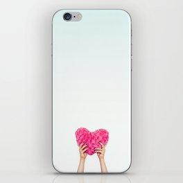 Pink Heart iPhone Skin