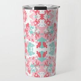 Arabella - abstract minimal pattern print art home decor trendy girly boho dorm college painting Travel Mug