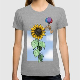 Floating toward a dream T-shirt