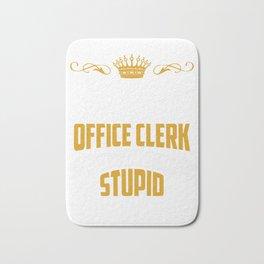 Office Clerc Bath Mat
