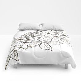 Vine Roses Comforters