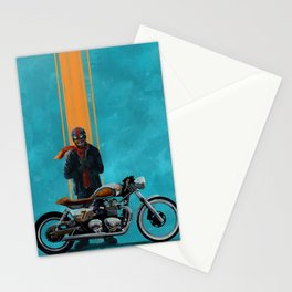 Vintage caferacer Stationery Cards